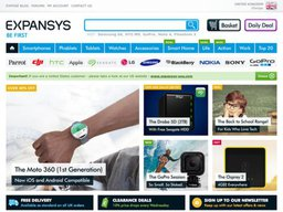 Expansys UK screenshot