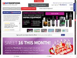 7dayshop.com screenshot