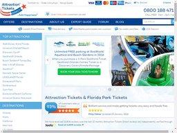 Attraction Tickets Direct screenshot
