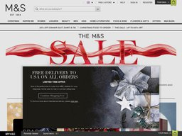 Marks and Spencer screenshot